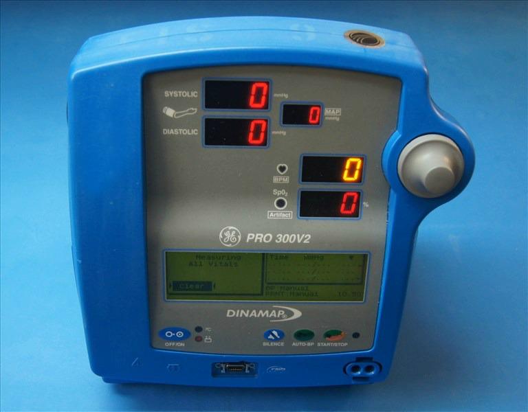 GE Dinamap Pro 300 Vital Signs Monitor on